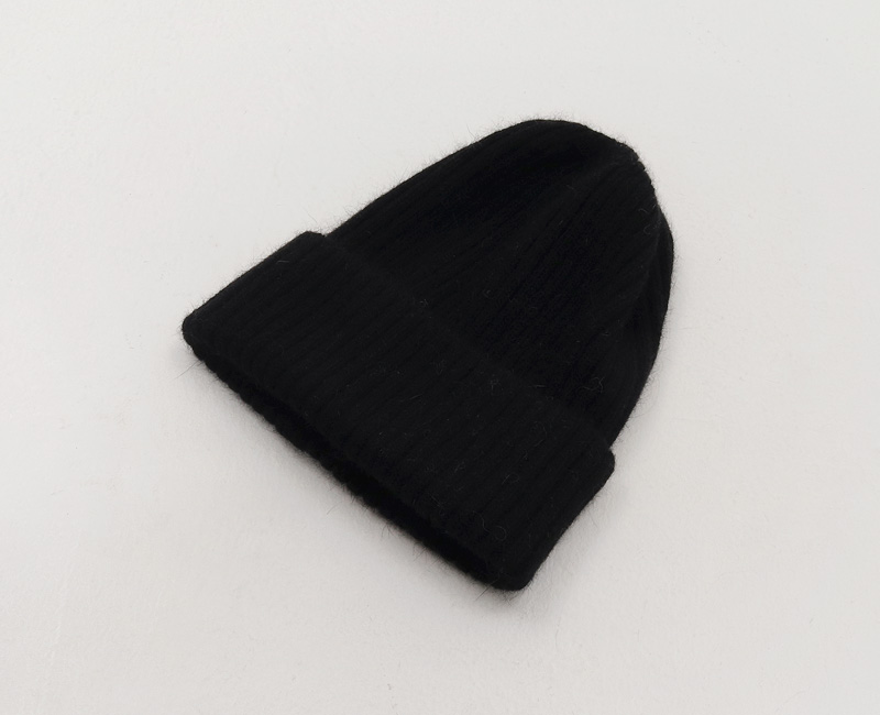 Angora Golgi Beanie Hat
