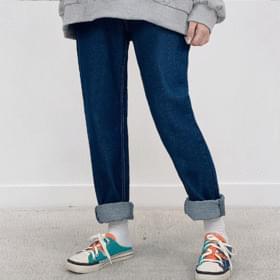 Semi Baggy Denim Pants jeans