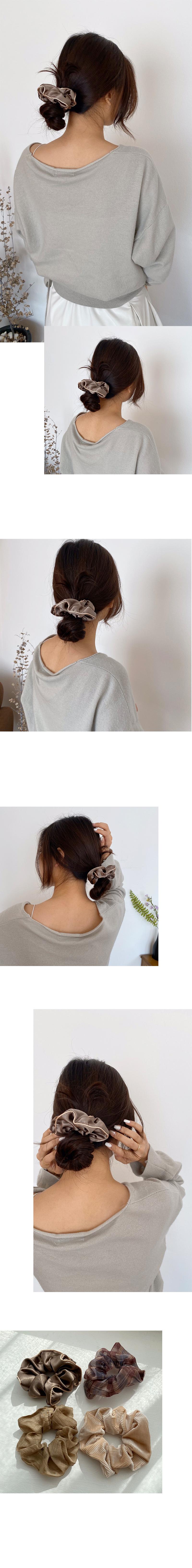 line scrunchie