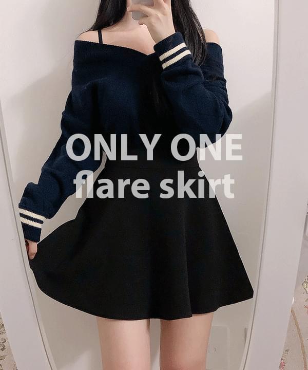 Self-made, reorder ♥ life full flared skirt skirt