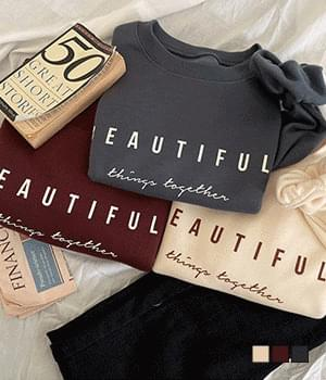 Beautiful Things Raised Sweatshirts