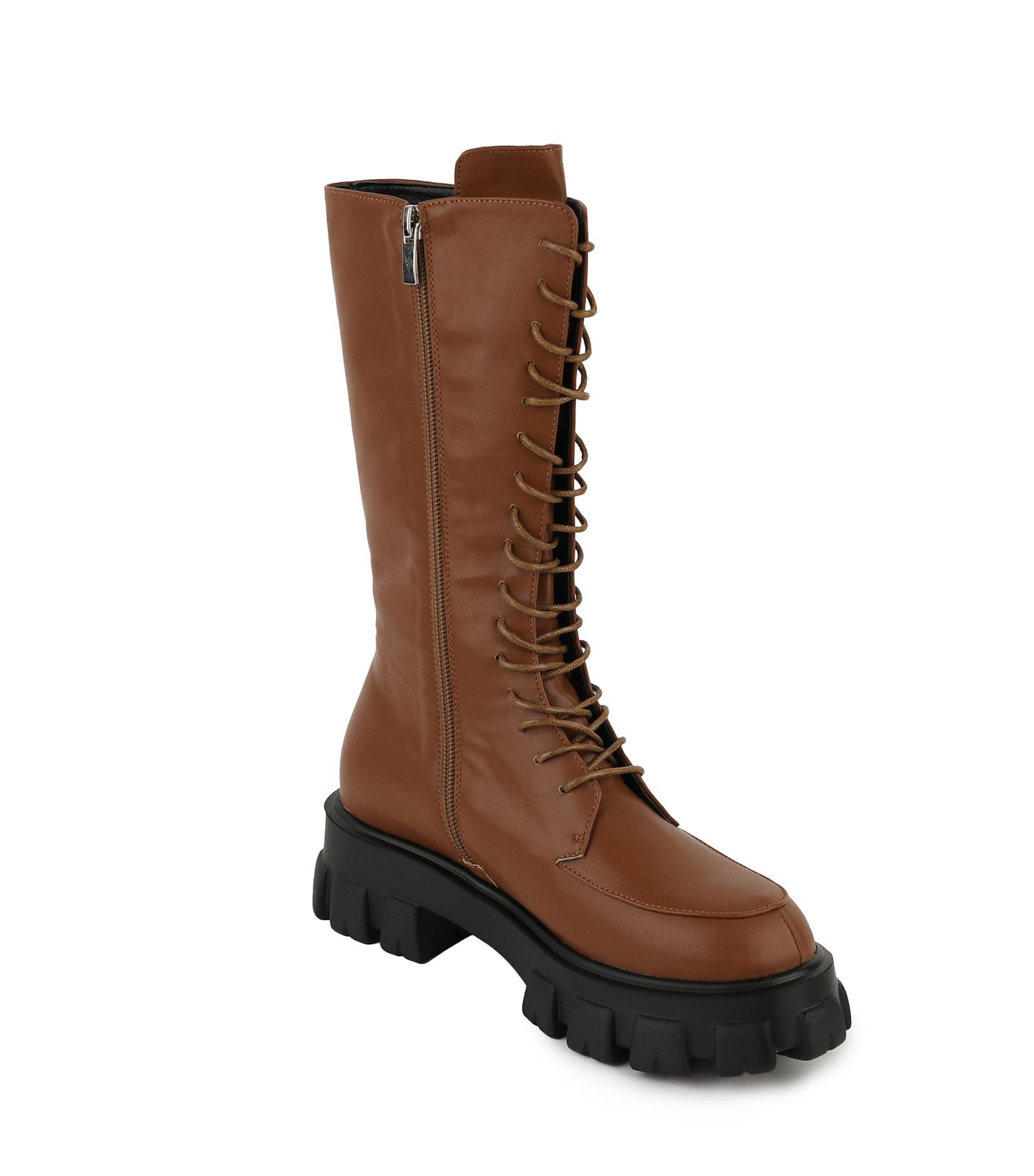 DOMIX lace-up walker boots