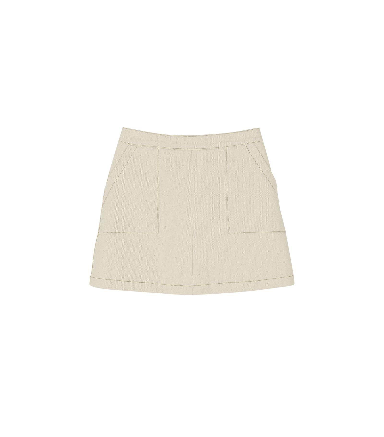 Dressing mini skirt