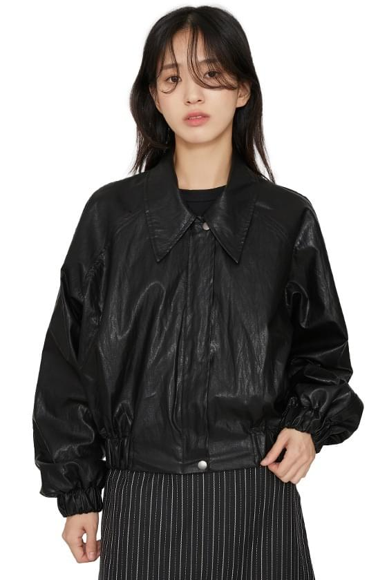 Step Shine Leather Jacket 夾克外套