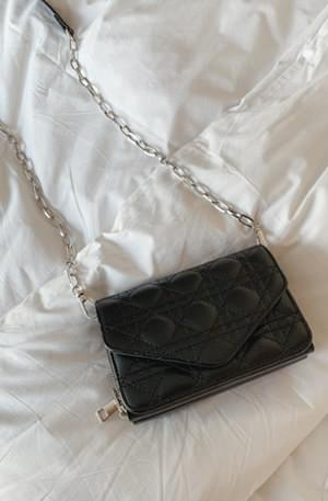 Lady Quilted Mini Chain Bag 肩背包