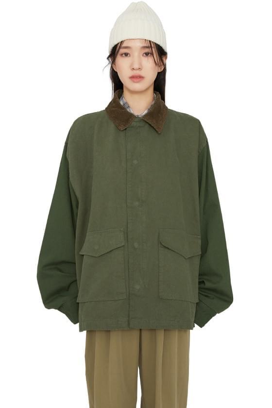Normal overfit parka coat