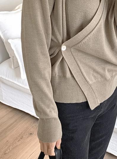 Riel wrap knit