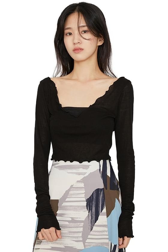 Rotty cropped top