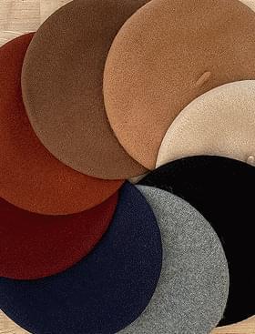 Planning essential wool beret wool 80%