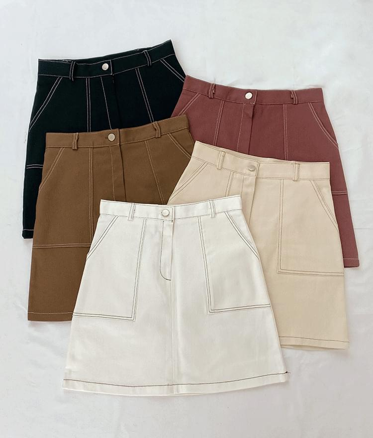 Charming mini skirt