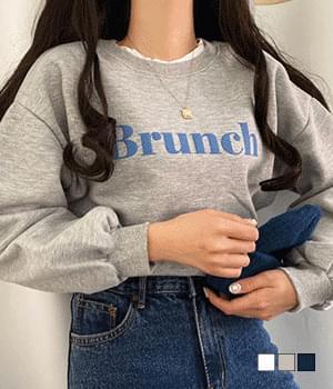 Brunch brushed sweatshirt
