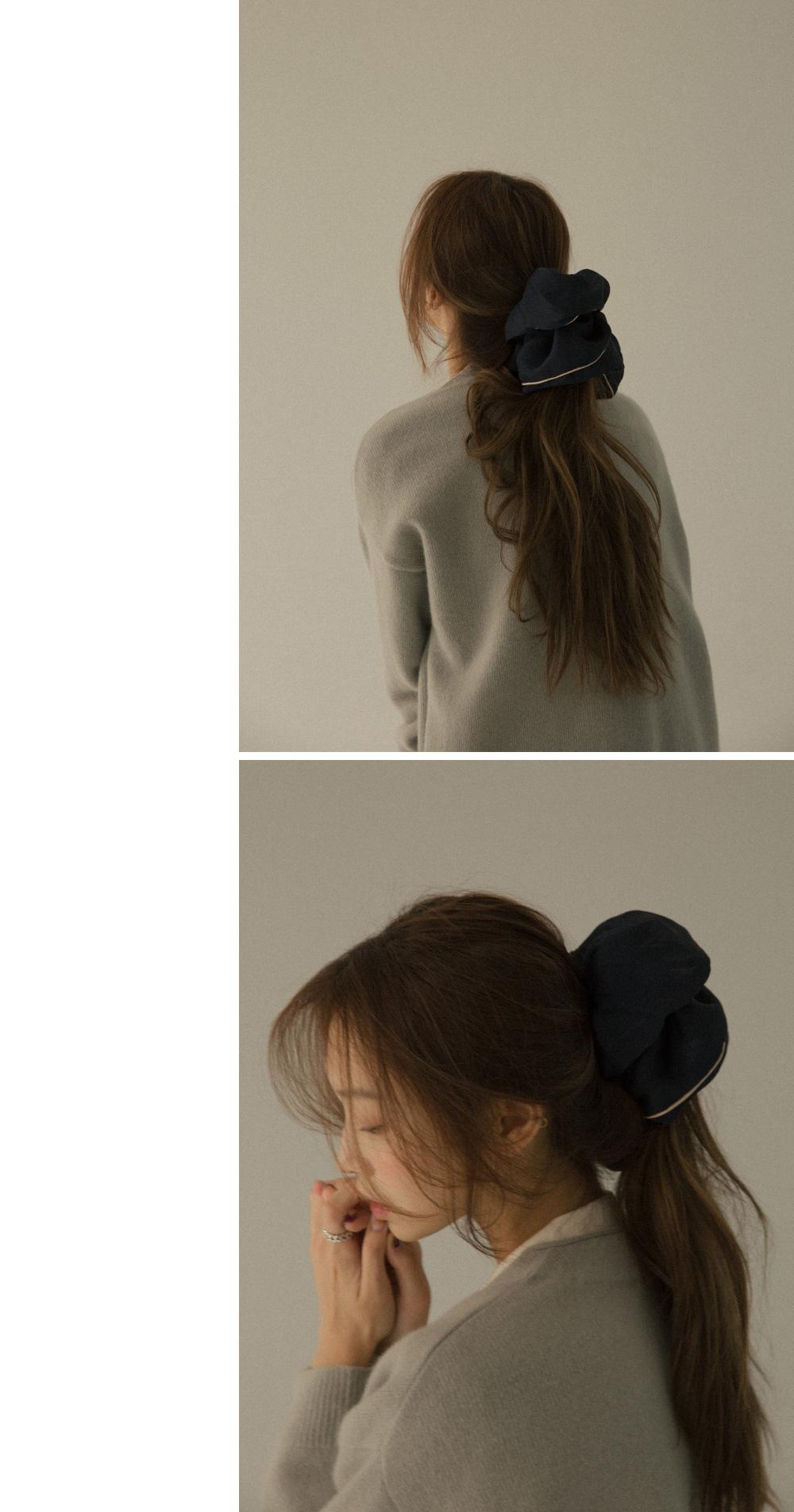 Two-tone Big Scrunch Hair Strap