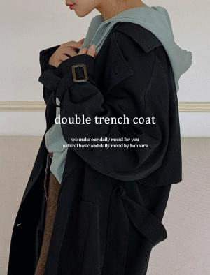 Anderson Nagrand double trench coat