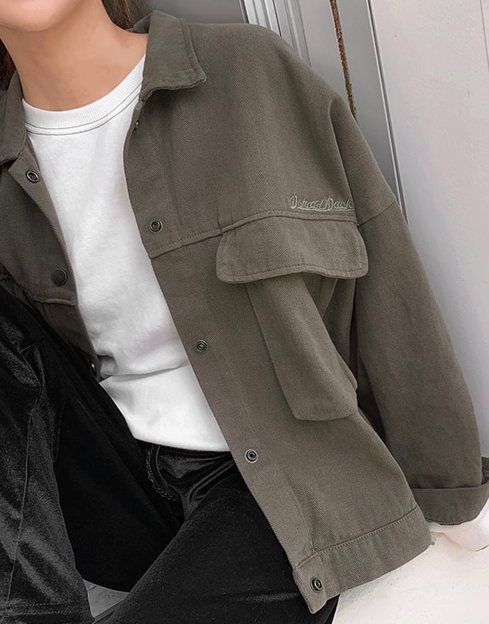 Kanji Setup Cotton Jacket