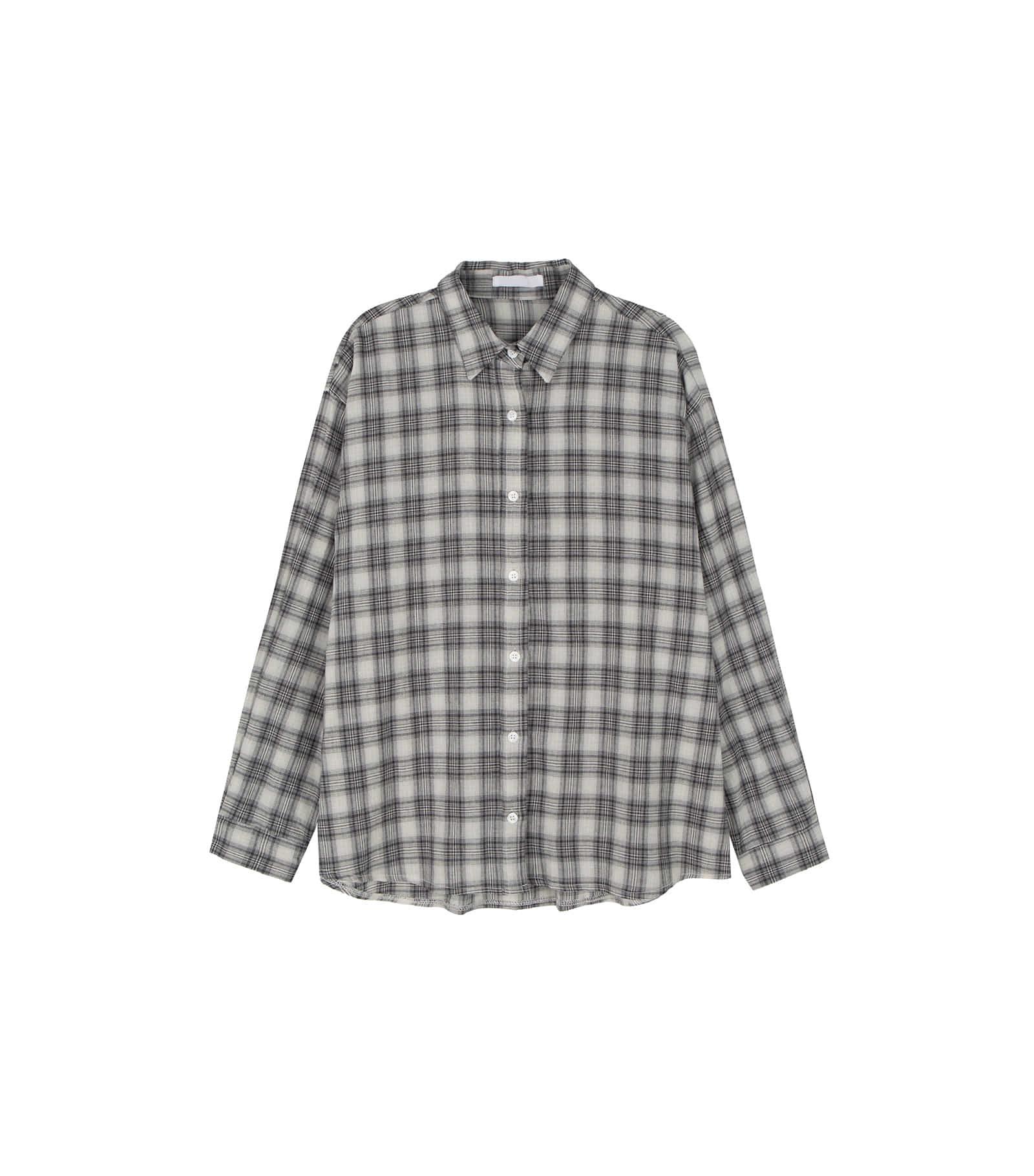 Eddie overfit check shirt