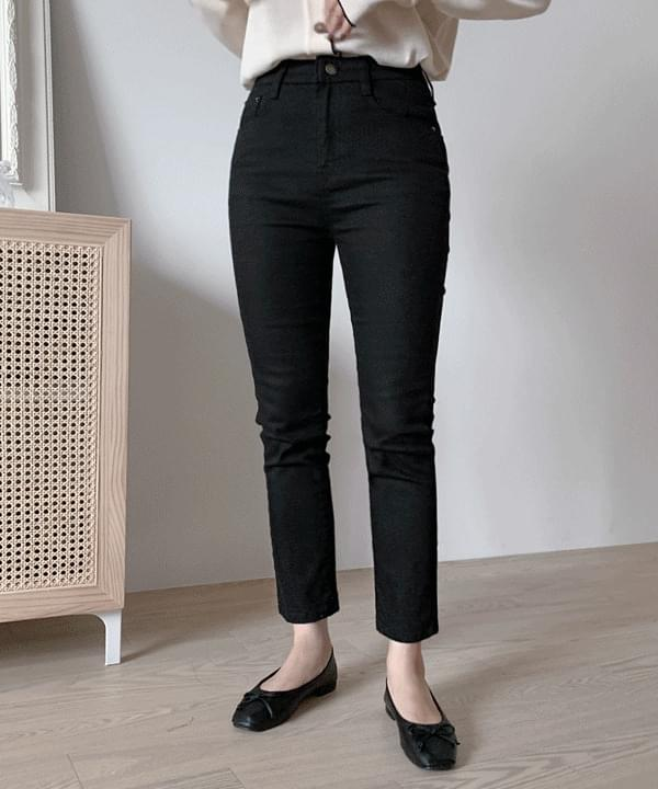 Daily Black Slim Date Pants *