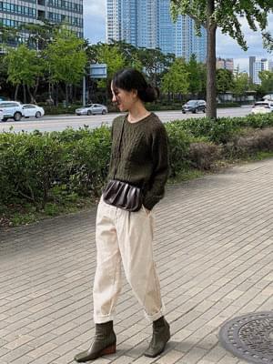 韓國空運 - Mody Twisted Knitwear 針織衫
