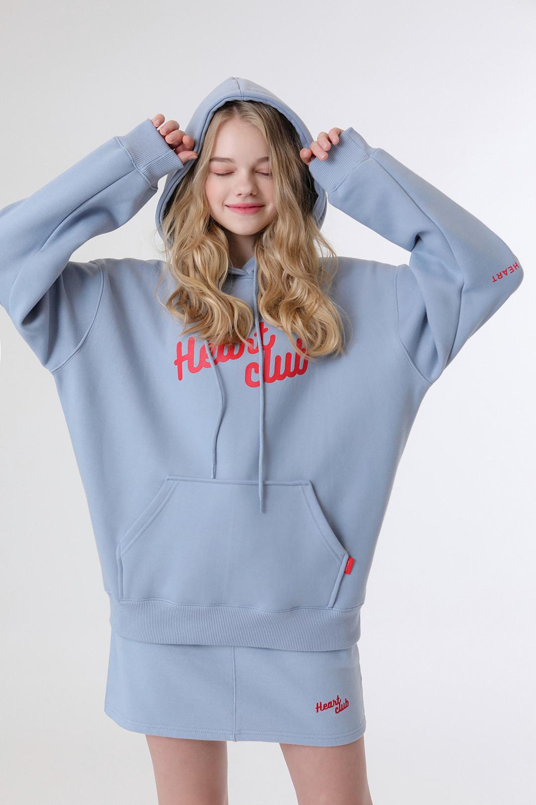 Heart Big Logo Hoodie