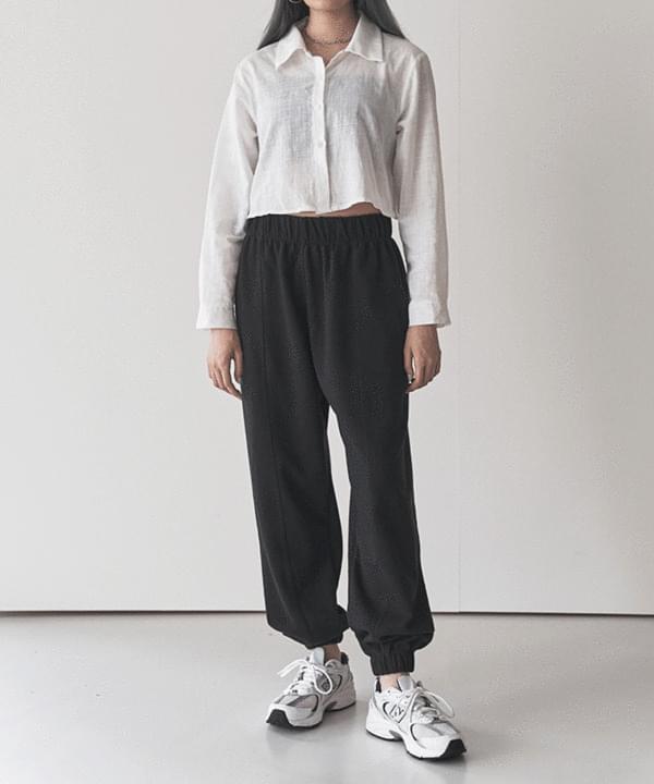 韓國空運 - Split training jogger pants 長褲