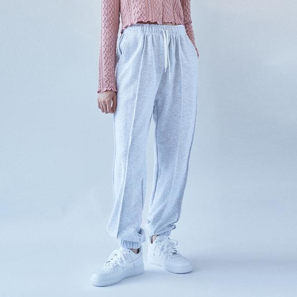 Over Split banding jogger pants