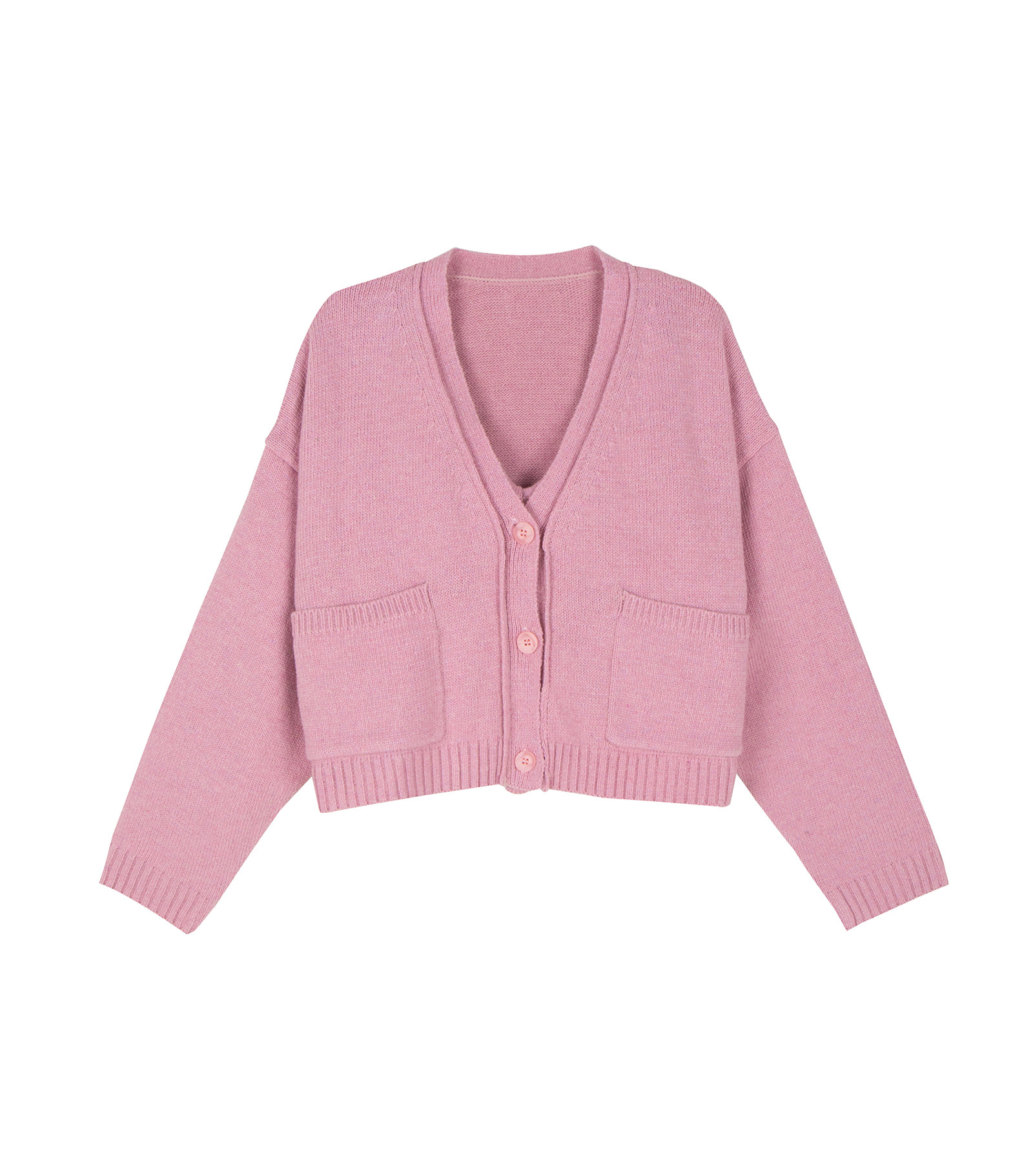 Twin knit set cardigan