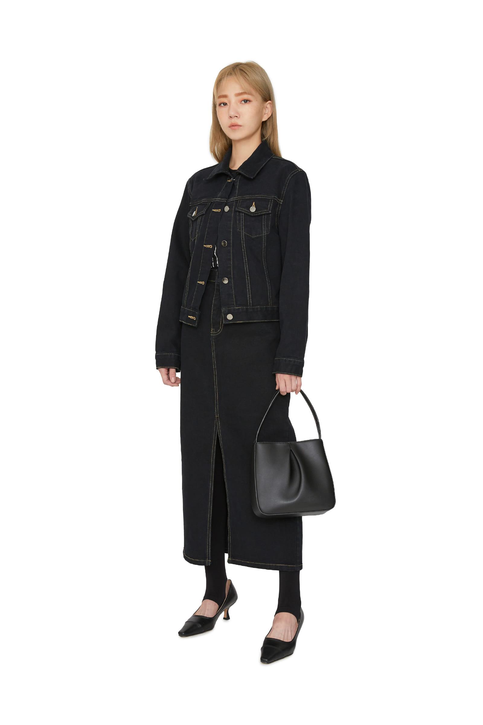 Autumn standard denim jacket