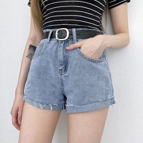Cutting Short Pants Belt SET 2 Color