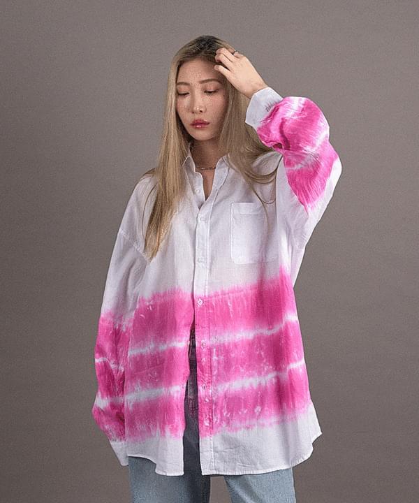 Water Print Overfit shirt