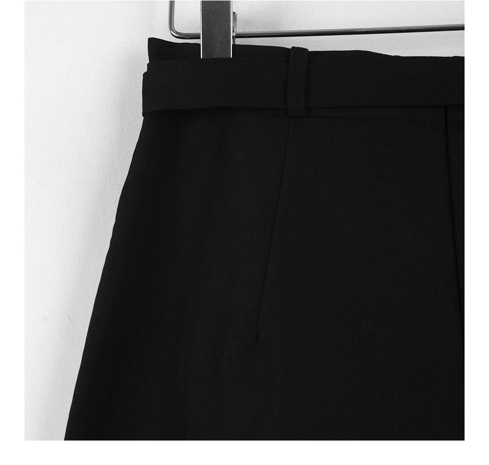 Find belt long skirt
