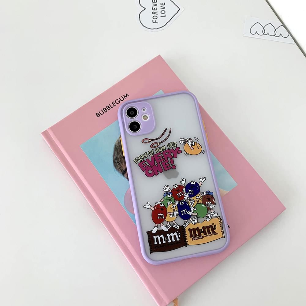 MM Every1 Bumper Translucent iPhone Case