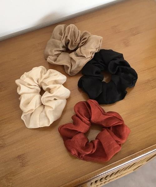 romantic scrunchie
