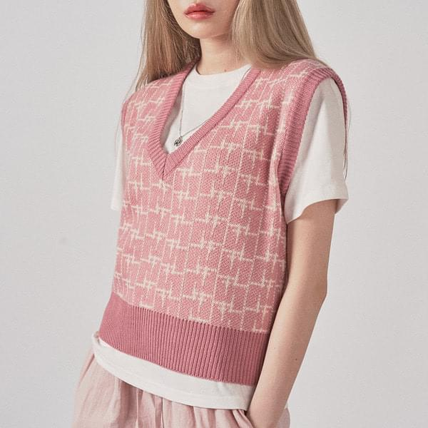 Shay Check Best 針織衫