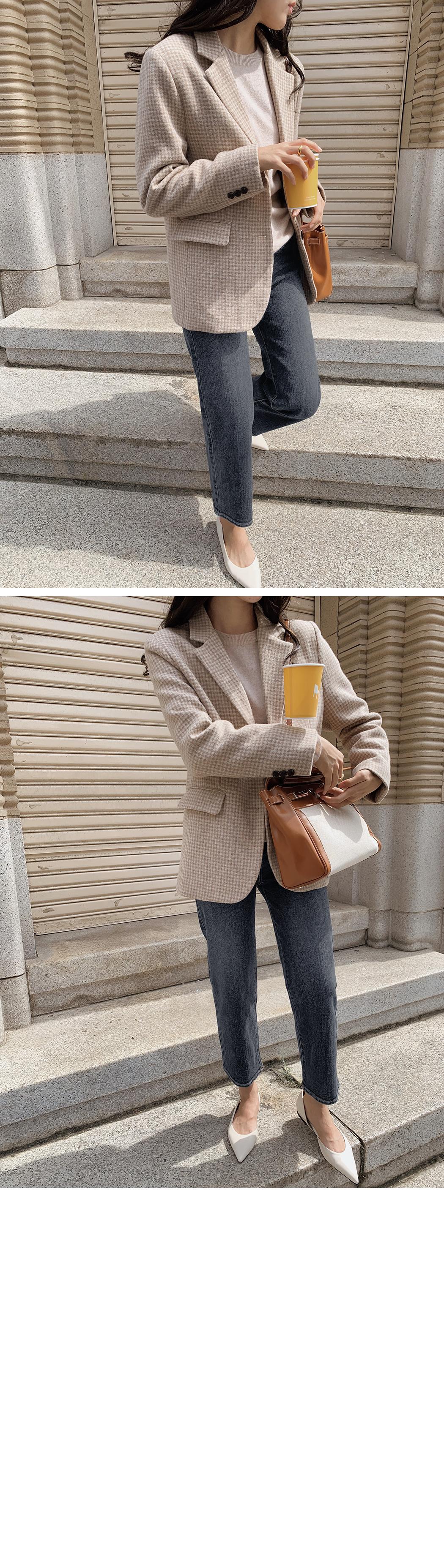 Notting Hill Wool Check Jacket