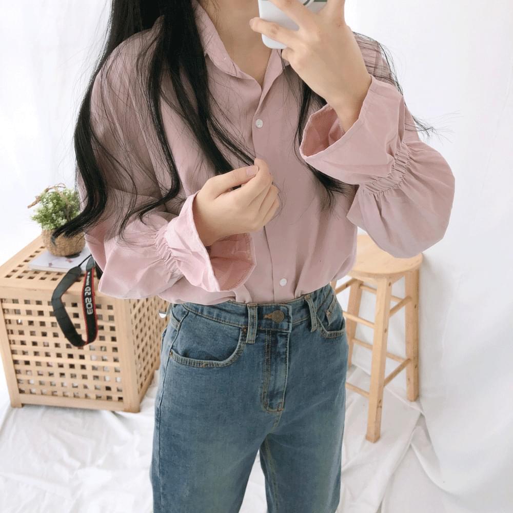 Loha cuff blouse