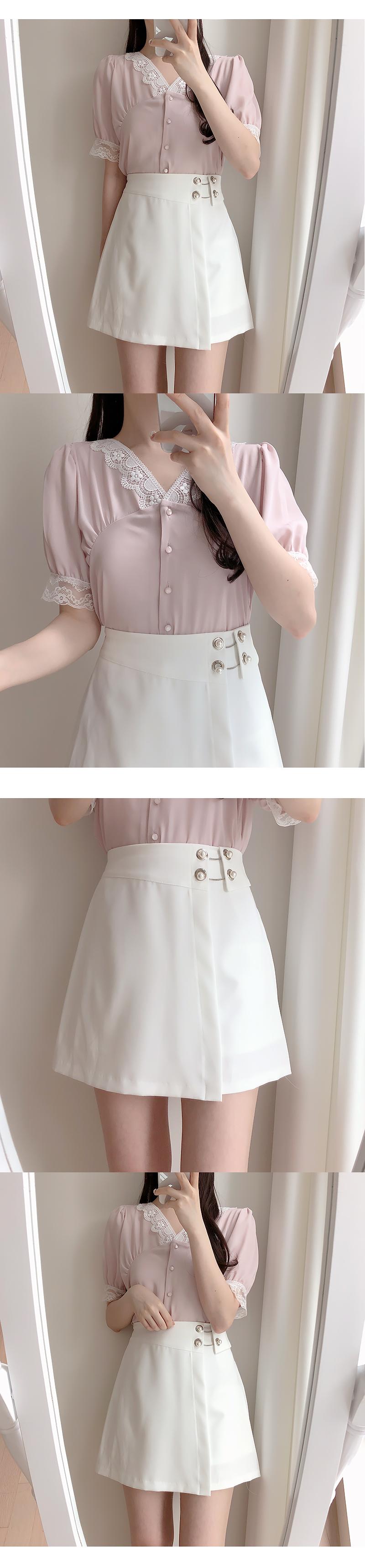 Surin Pearl Skirt Pants