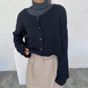 Olive rouge knit cardigan