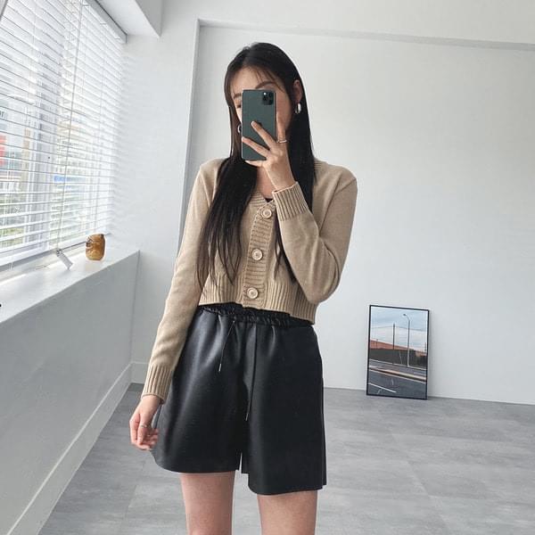 Cla basic cropped cardigan