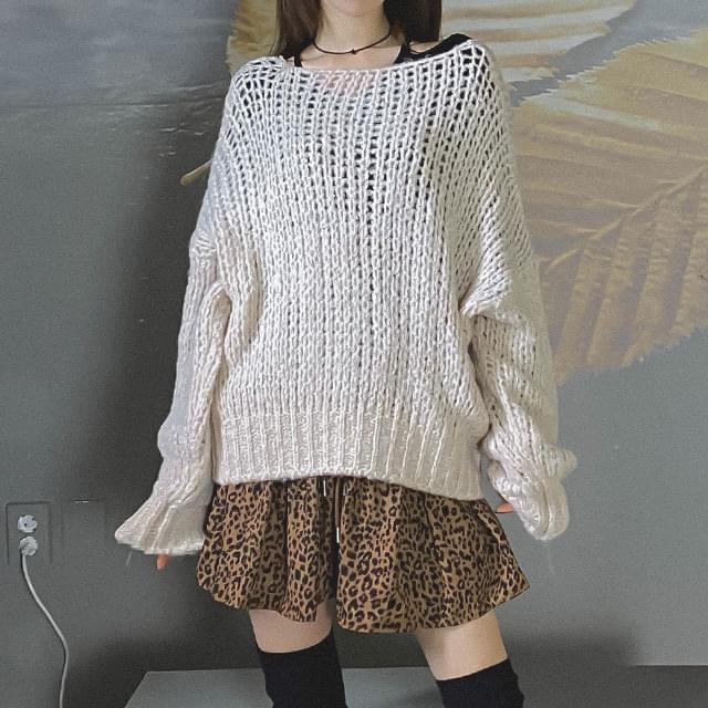 Coke bulky knit
