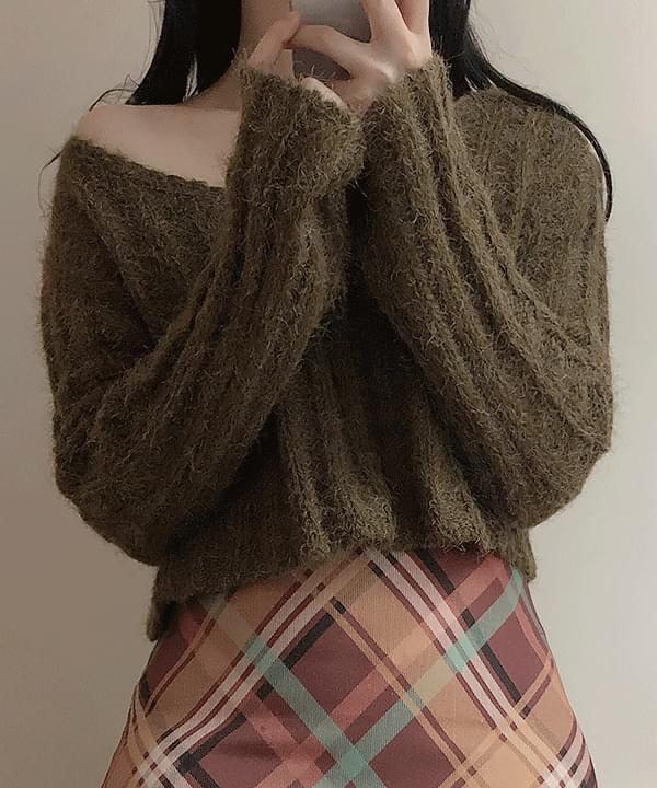 Sevin Alpaca V Cropknit 針織衫