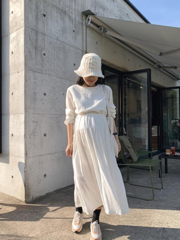Baby String Shirring Dress 洋裝