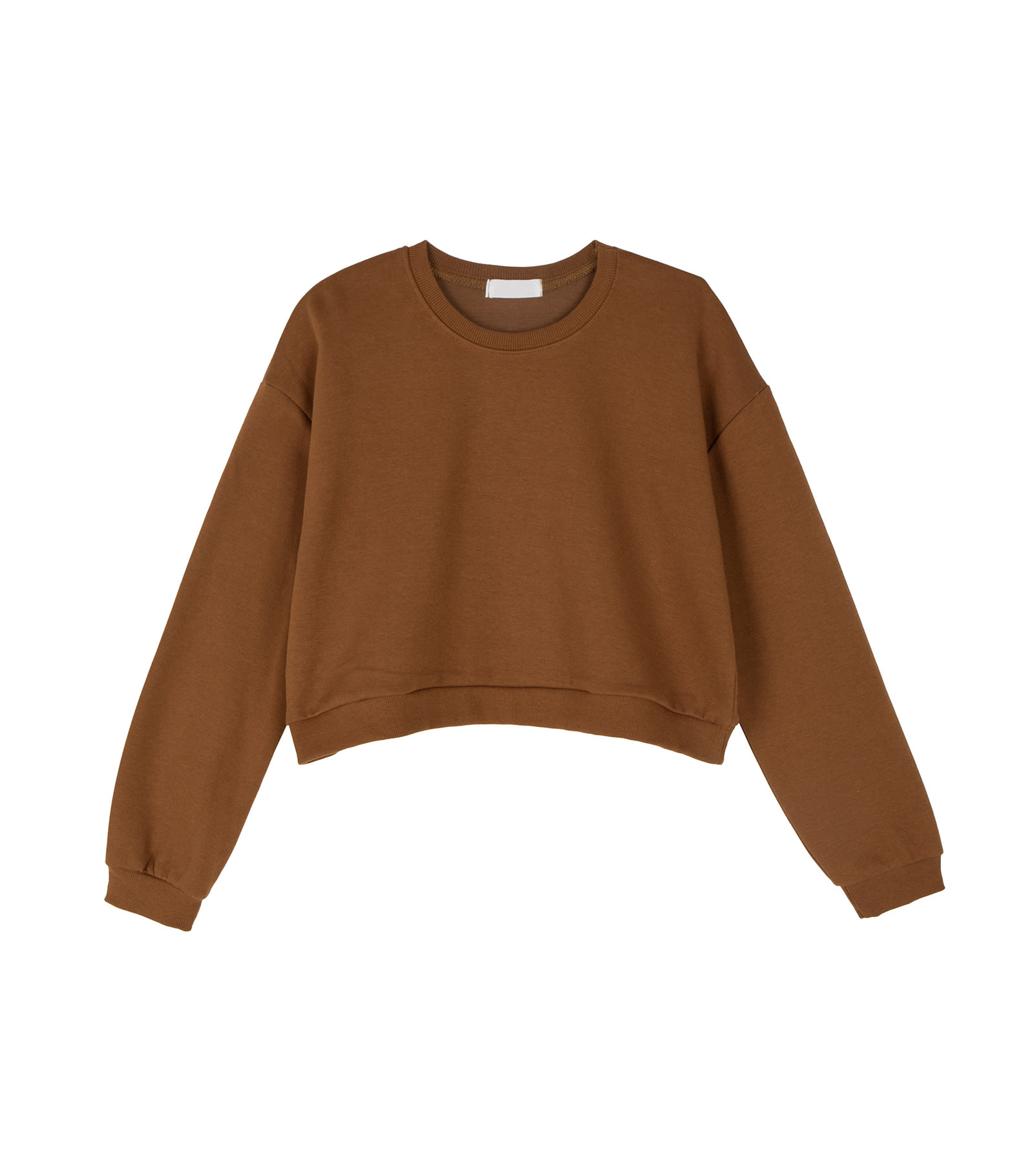 Monday cropped crew neck sweatshirt