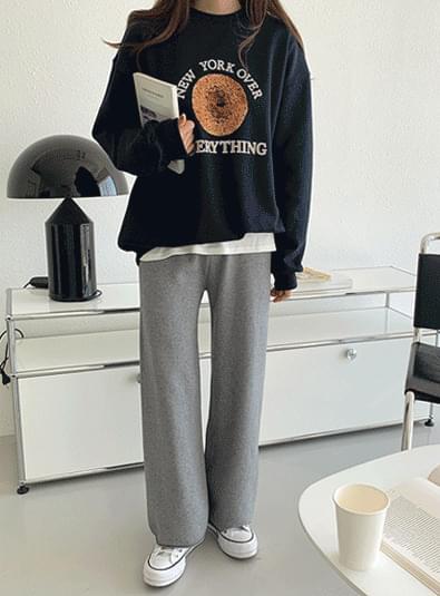 Rear knit pants