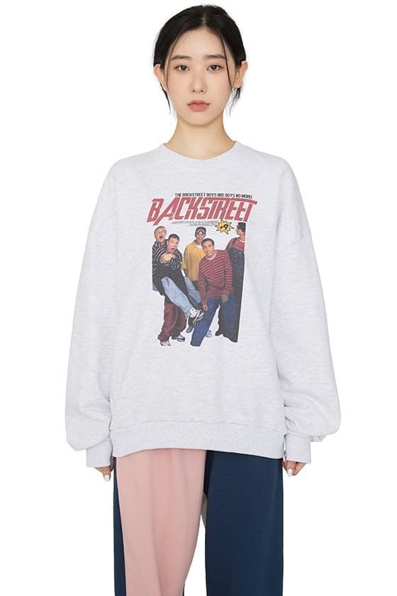 Backstreet printed crewneck sweatshirt