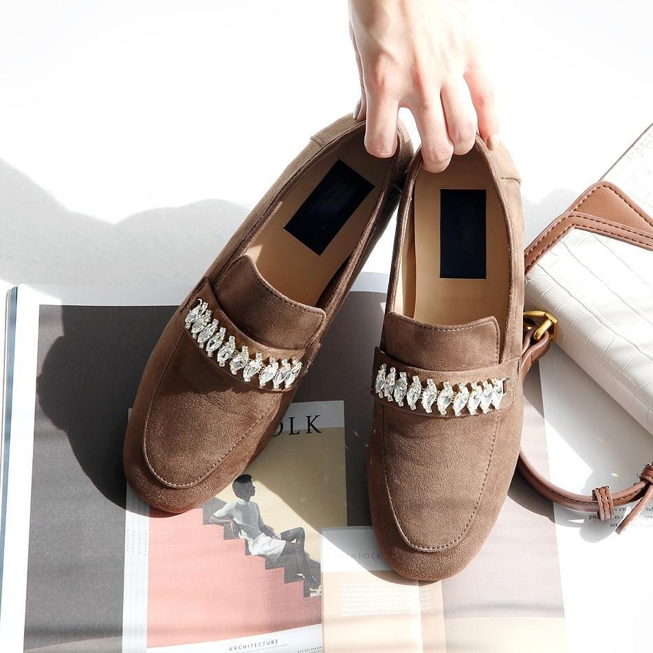 Retier height loafers 3cm