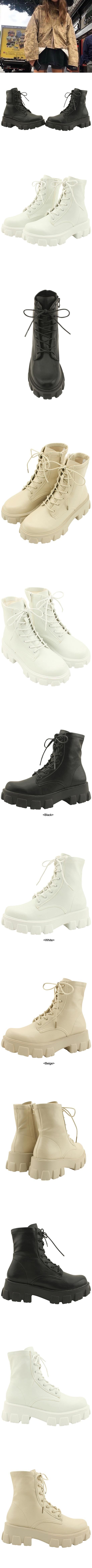 Span High Heel Walker 5cm Black