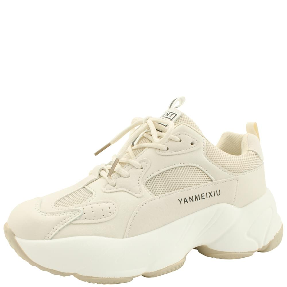 Height Ugly Shoes Sneakers Beige