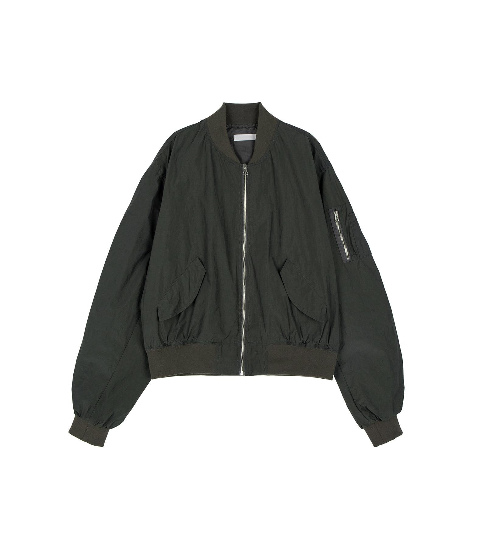 Trans-over bomber jacket