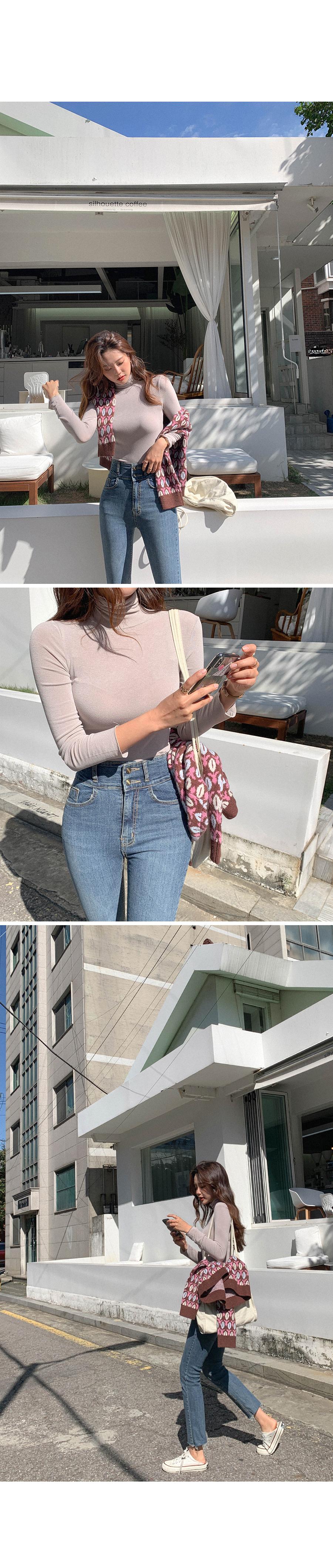 Spankinang Nang Slim Neck Polar T-Shirt