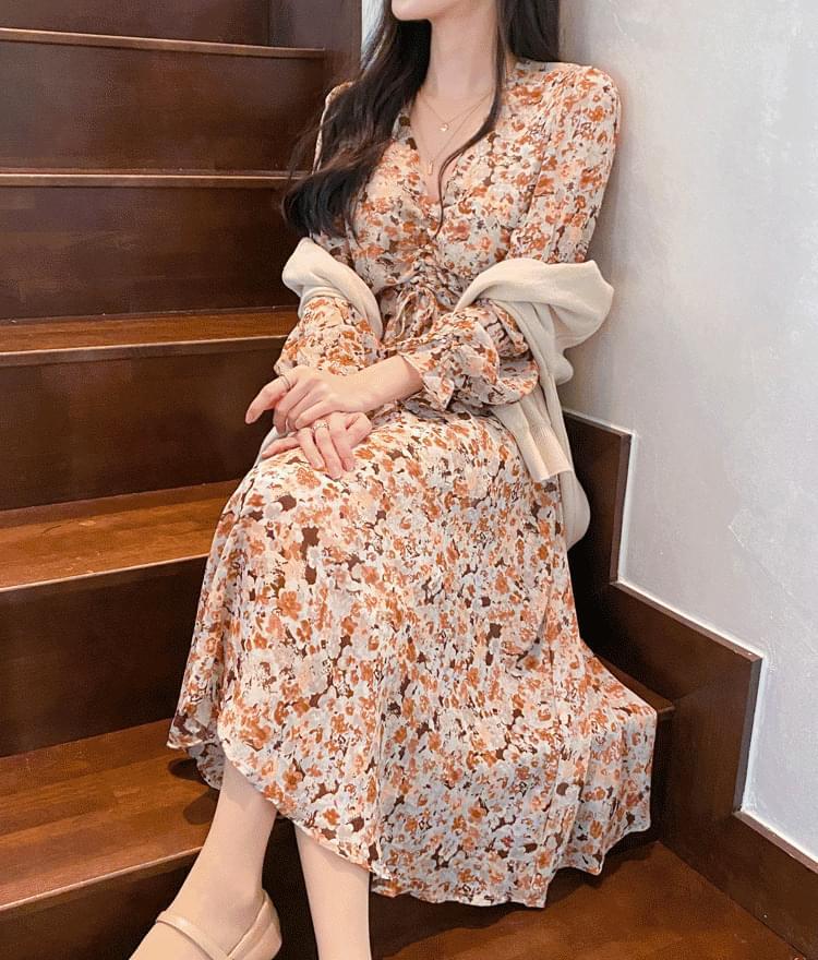 Mood shirring dress