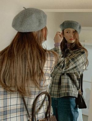 韓國空運 - 毛茸茸貝蕾帽 帽子